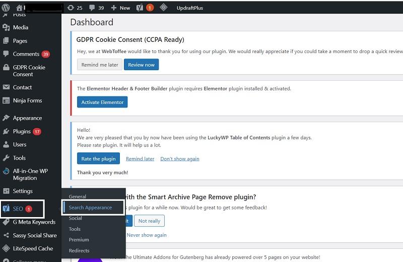 Steps for writing meta description of blog with Yoast Plugin